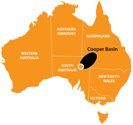 Oil and Gas Exploration Cooper and Eromanga basin Australia